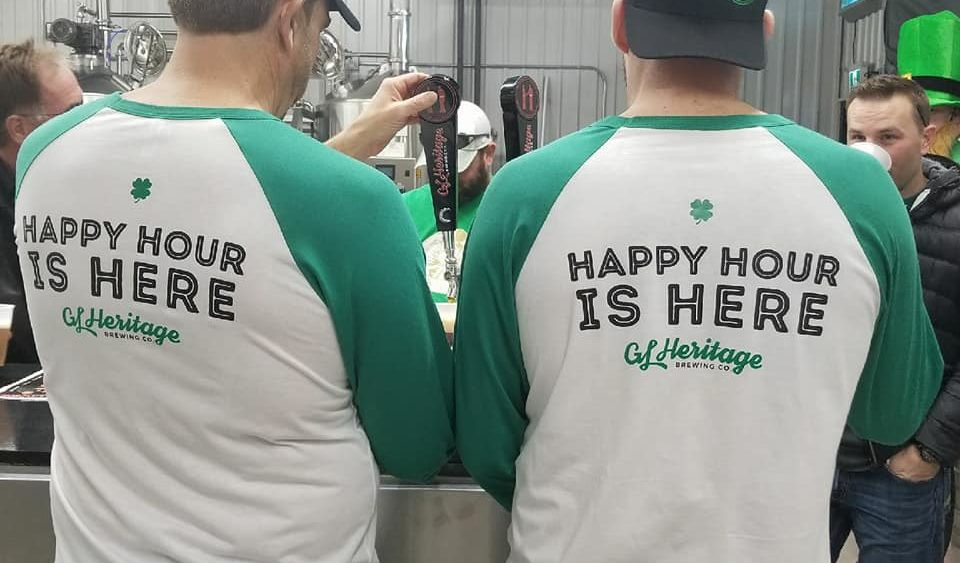 St Pattys Happy Hour is Here