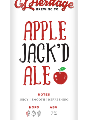 apple jack'd ale can