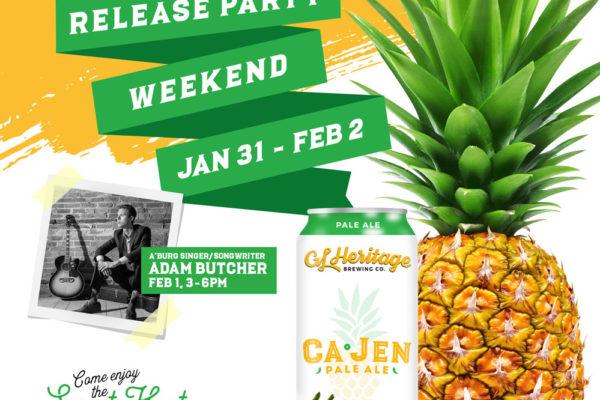 Ca-Jen Pale Ale Release Party