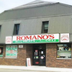 Romanos Amherstburg Storefront